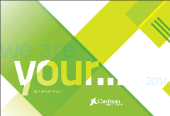 Cambrian Annual Report Cover 2014