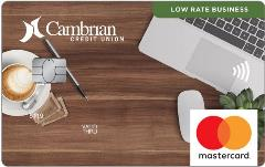 MasterCard LowRateBusiness Cambrian