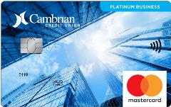 MasterCard PlatinumBusiness Cambrian